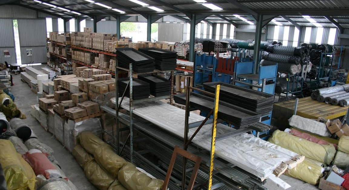 building material warehouse