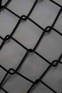 Black Coated PVC Mesh